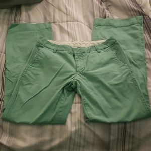 GAP LIME GREEN PANTS